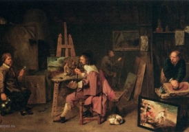 De schildersatelier