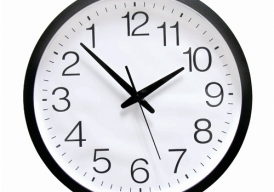 De klok die stilstond